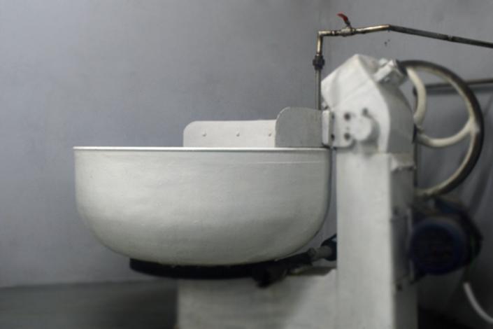 Máquina para elaborar Mozzarella